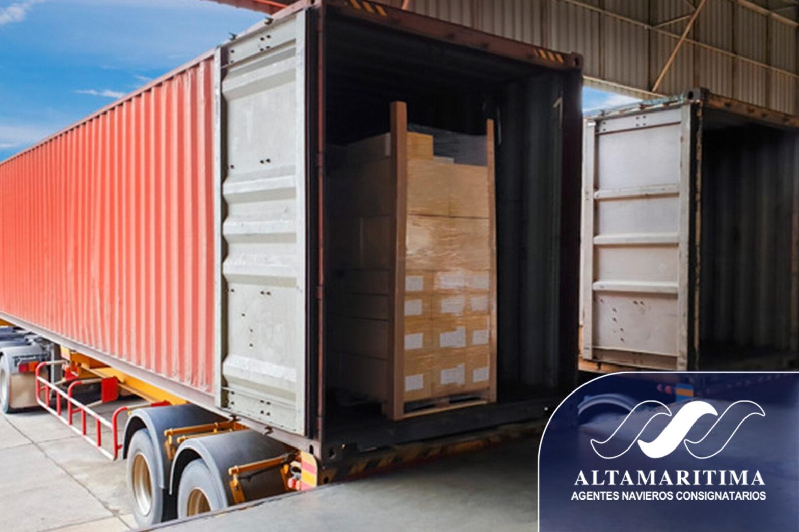 Factores a considerar en la carga de contenedores
